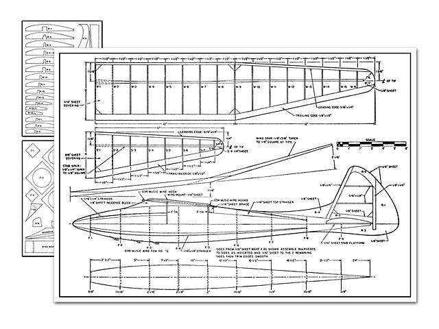 1948 Glider plan