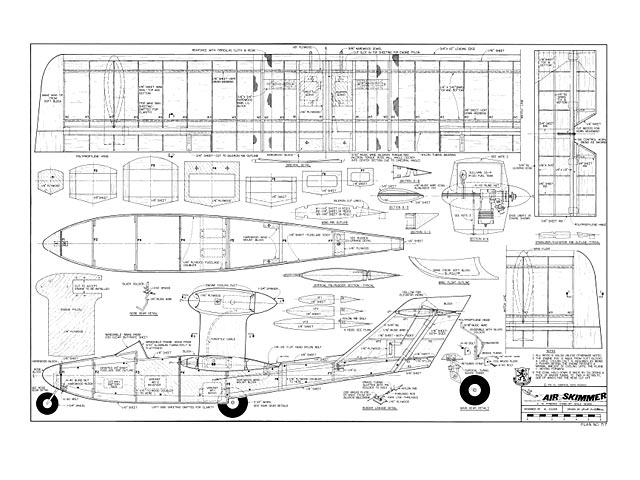 Air Skimmer (Osprey) - plan thumbnail image