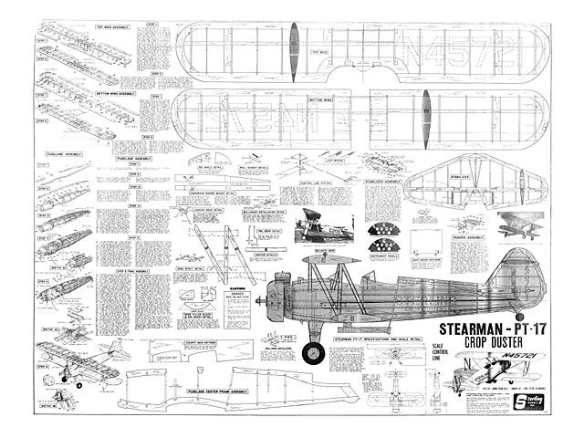 Stearman pt 17 crop duster plan free download outerzone for Sterling plan