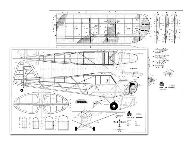Piper L-4B Grasshopper - plan thumbnail image
