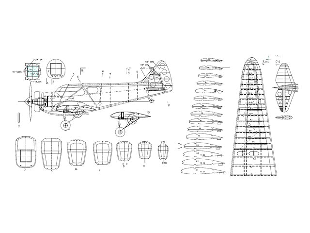 British Airspeed Courier - plan thumbnail image