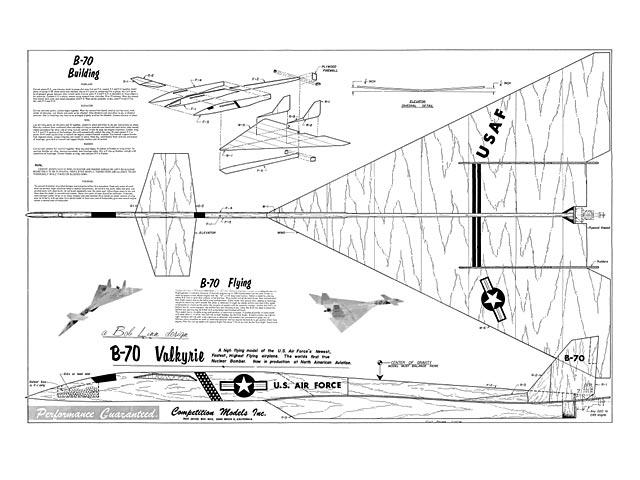 B-70 Valkyrie - plan thumbnail image