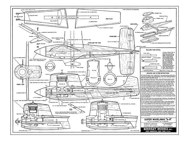 Super Whirlaway (oz6641) by Bob Elliott from Berkeley 1954