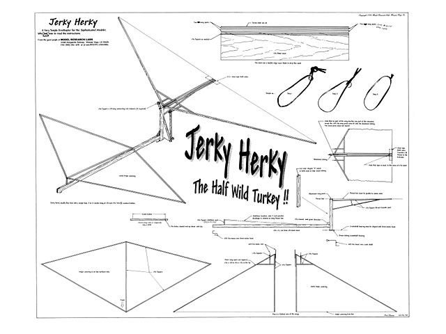 Jerky Herky (oz6645) by Curt Stevens from Model Research Labs 1999