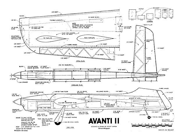Avanti II - plan thumbnail image