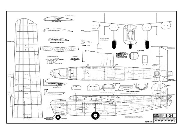 B-24 plan - Free download - Outerzone