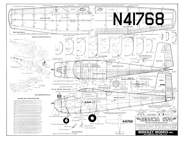 Cessna 172 (oz682) by Don McGovern from Berkeley 1957