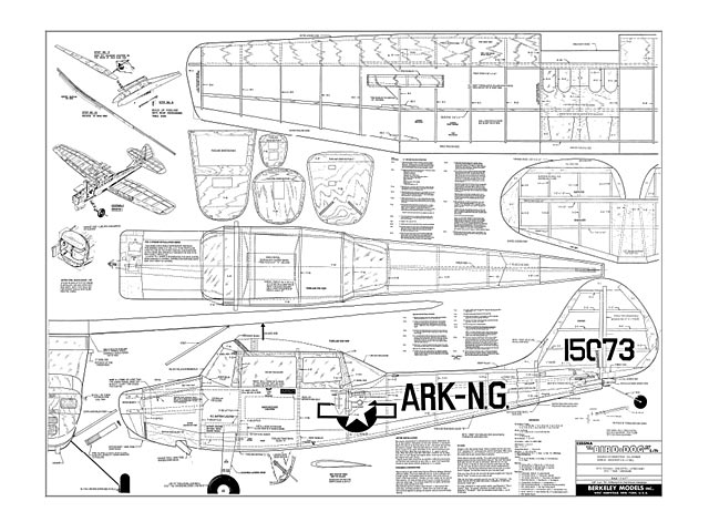Cessna L-19 Bird Dog - plan thumbnail image
