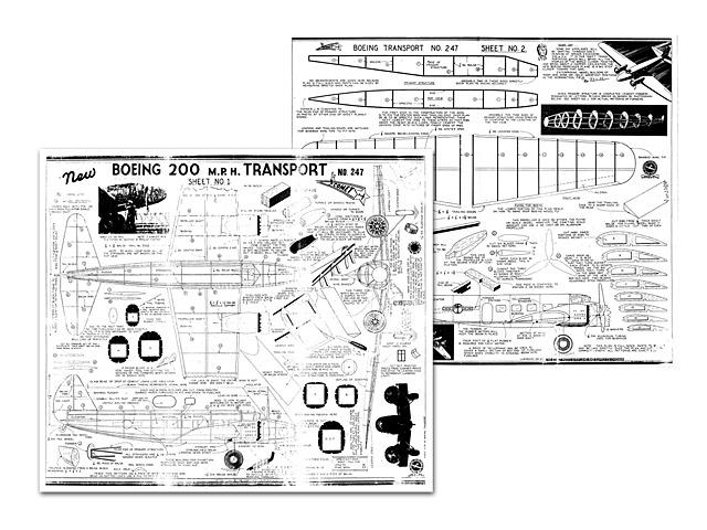 Boeing 247 - plan thumbnail image