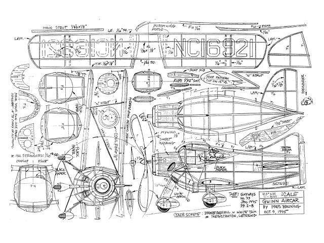 Gwinn Aircar (oz6899) by Pres Bruning 1995
