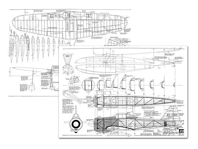 Mitsubishi A6M2 Zero - plan thumbnail image