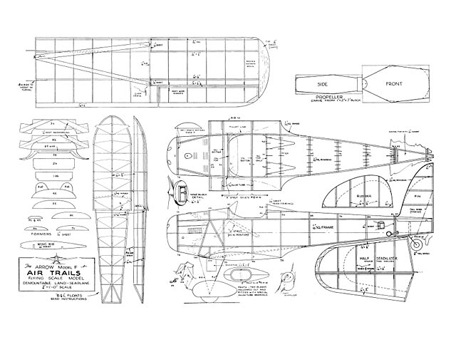 Arrow Model F - plan thumbnail image