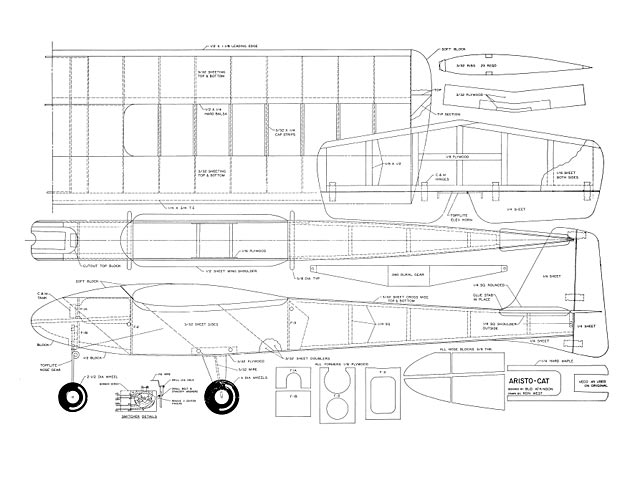 Outerzone Open Listing Of Free Vintage Model Aircraft Plans