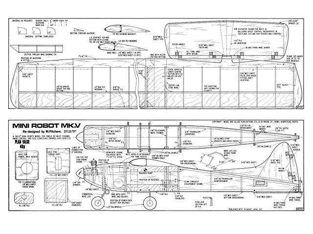 Mini Robot - plan thumbnail image