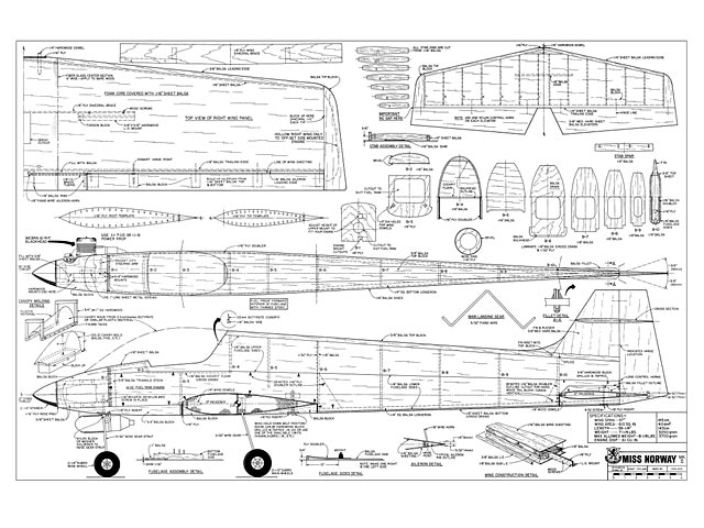 Miss Norway MkII - plan thumbnail image
