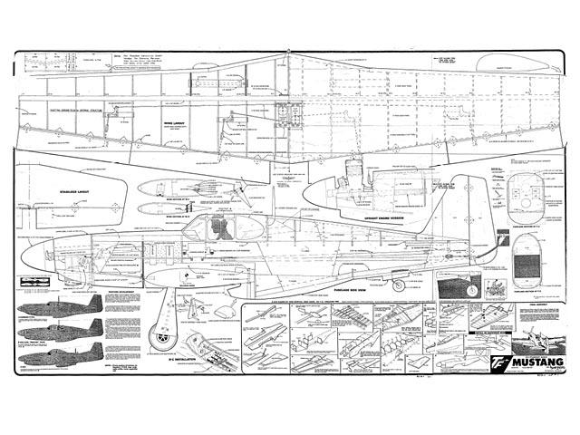 Oz P 51b Mustang Plan Free Download