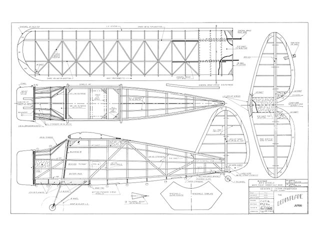 Dennyplane Junior - plan thumbnail image