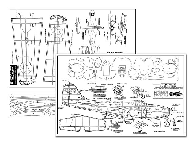 Bell P-59 Airacomet - plan thumbnail image