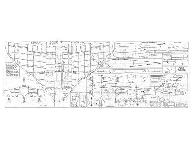 Avro Vulcan B Mk2 (oz7272) by Jack Lynn Bale