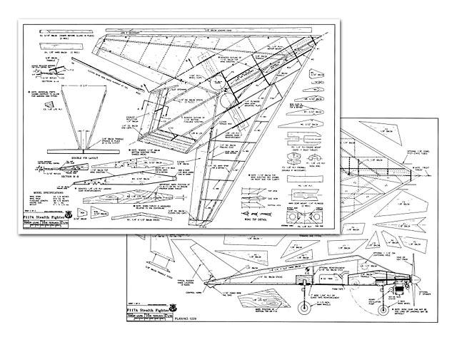 F-117A - plan thumbnail image