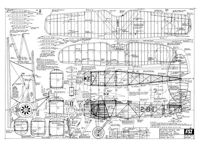Boeing F2B-1 - plan thumbnail image