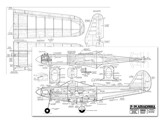 P-39 Airacobra - plan thumbnail image