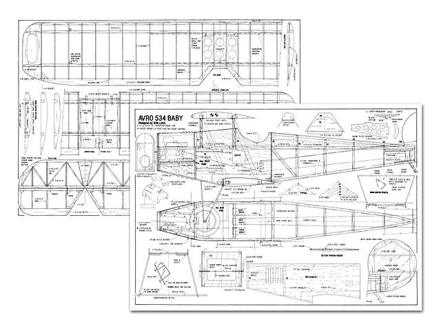 Avro 534 Baby - plan thumbnail image