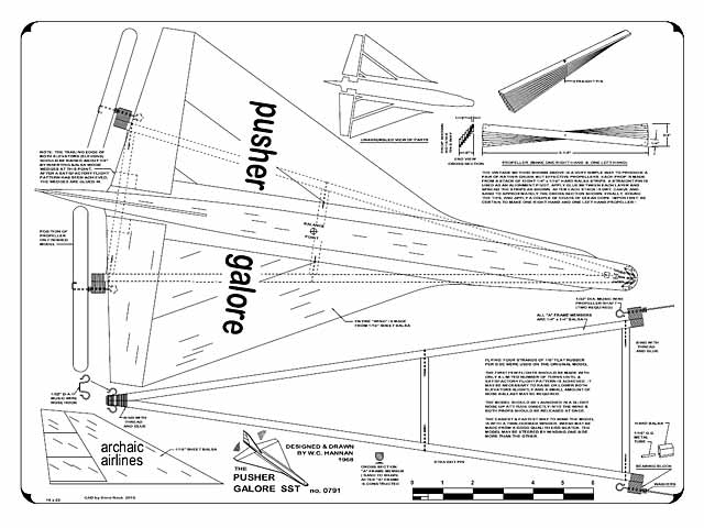 Pusher Galore SST (oz7517) by Bill Hannan from Bill Hannan 1968