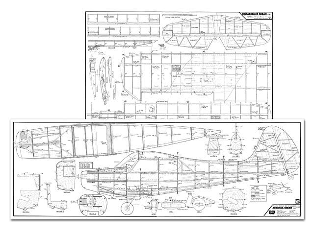 Aeronca Sedan 15AC - plan thumbnail image