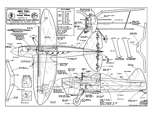 Able Gull - plan thumbnail image