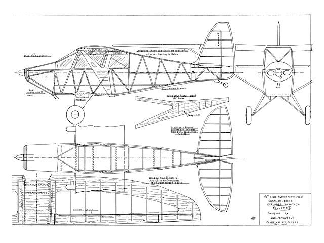 Explorer Aviation Ellipse (oz7554) by Joe Fergusson