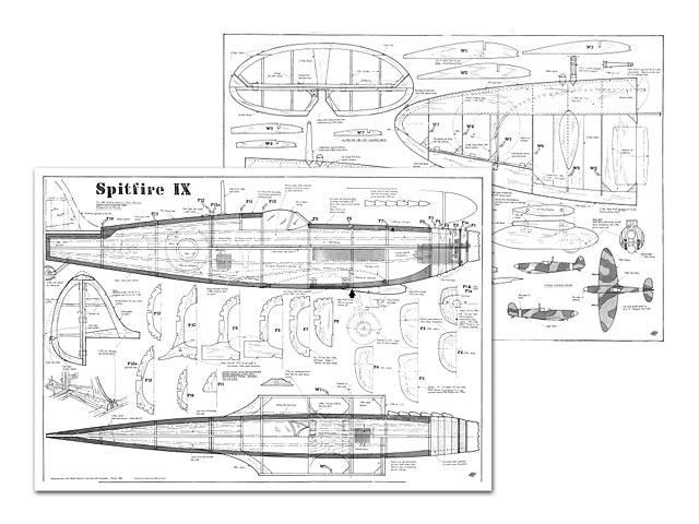 Spitfire IX plan - Free download - Outerzone