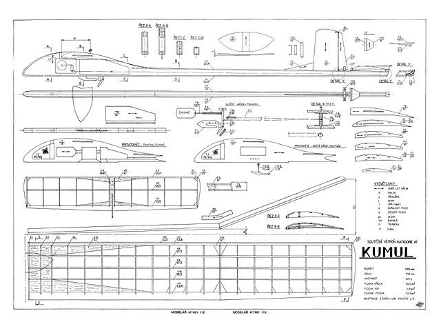 Kumul (oz7593) by Zdenek Raska from Modelar 1981