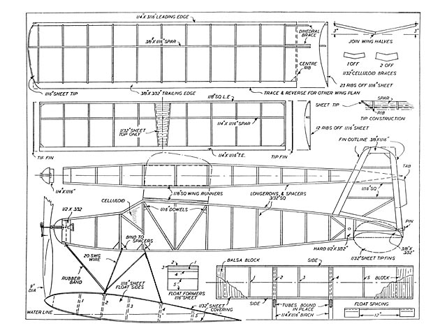 Hobbies Floatplane - plan thumbnail image