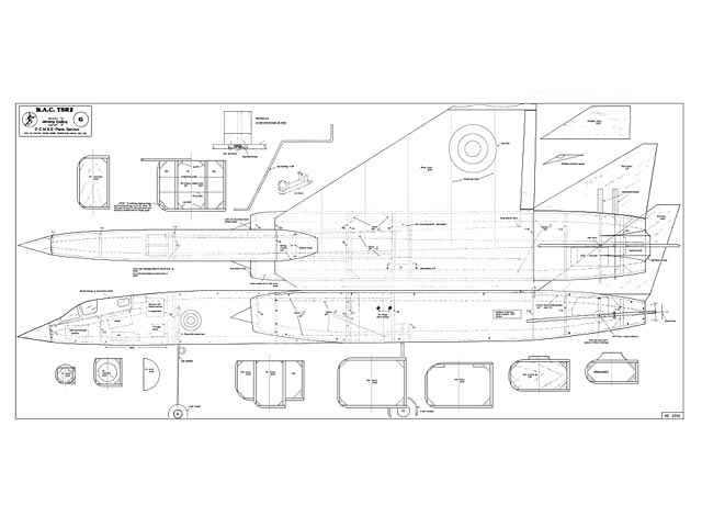 BAC TSR-2 - plan thumbnail image