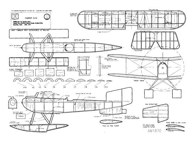 Fairey N.10 (oz7649) by Tim Heyward-Brown from Aeromodeller 1998