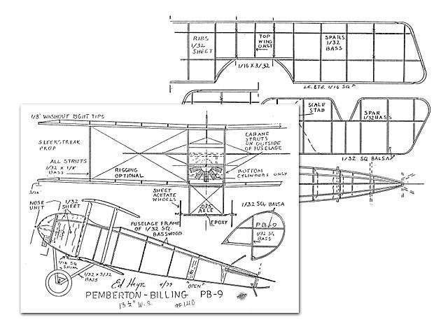 Pemberton Billing PB-9 (oz7689) by Ed Heyn 1979