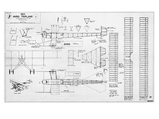 Avro Triplane - plan thumbnail image