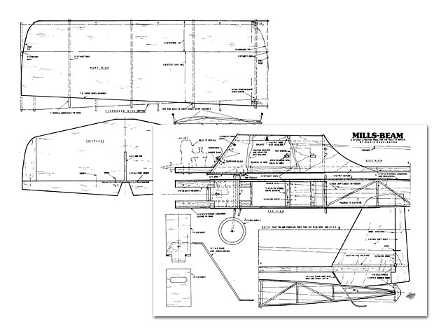 Mills Beam plan - Free download - Outerzone