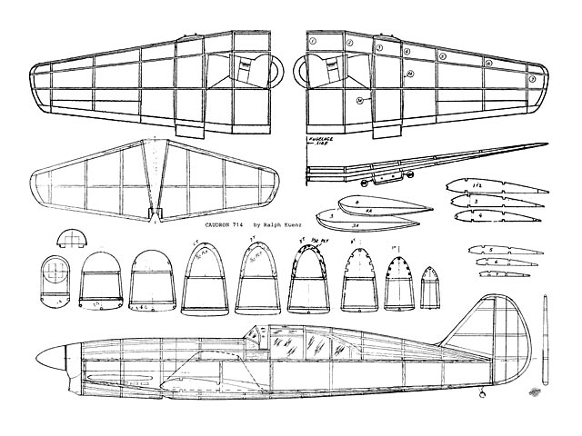 Caudron C-714 (oz7849) by Ralph Kuenz