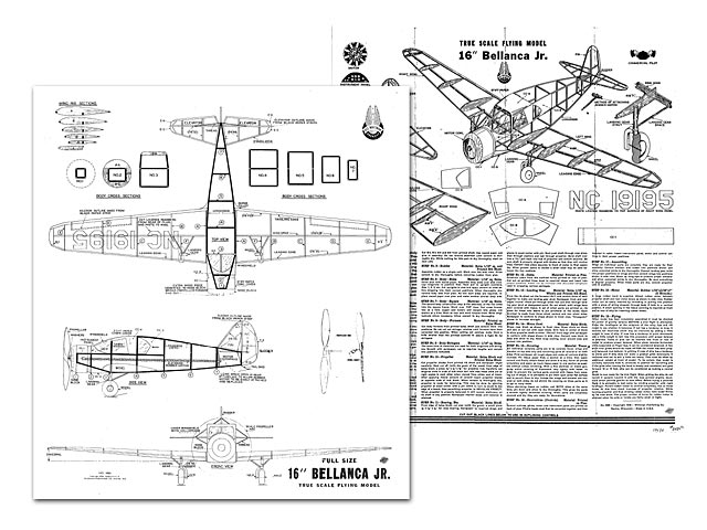Bellanca Junior - plan thumbnail image