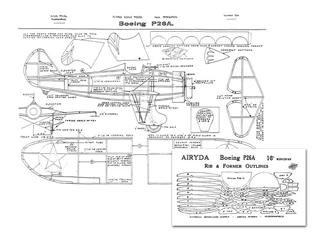 Boeing P-26A Peashooter - 7860