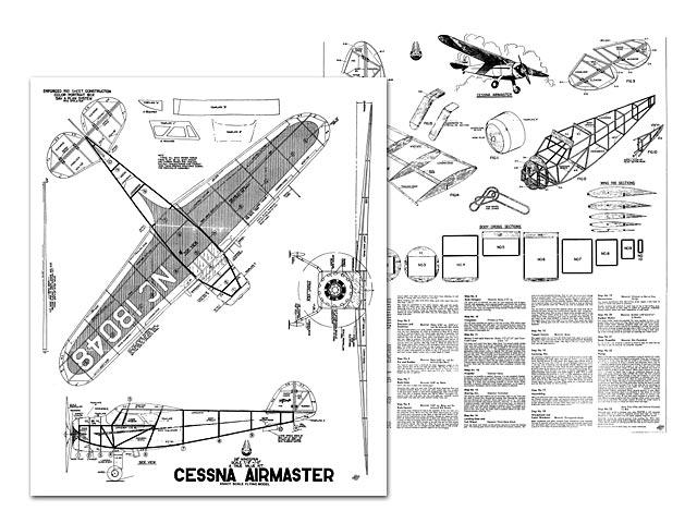 Cessna Airmaster - 7862