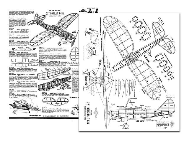 Douglas O43-A - 7895