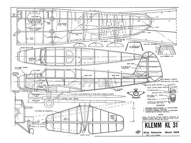 Klemm Kl 31 - 7896