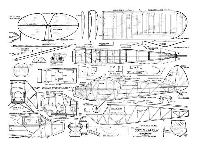 Piper Pa-12 Super Cruiser Plan - Free Download