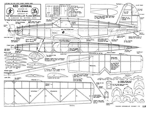 Red Admiral - plan thumbnail image