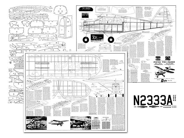 Piper Tri-Pacer - plan thumbnail image