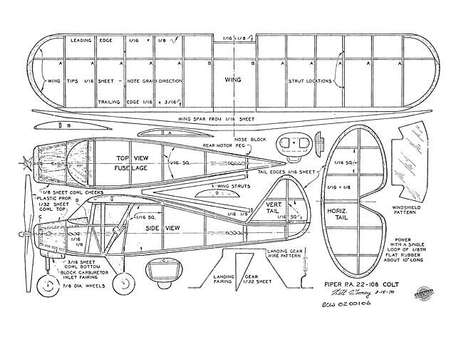 Piper PA22-108 Colt - 7990