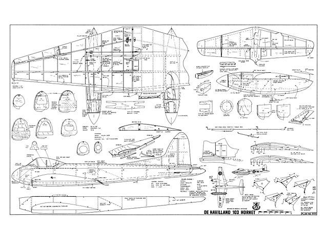 De Havilland DH-103 Hornet - 8001